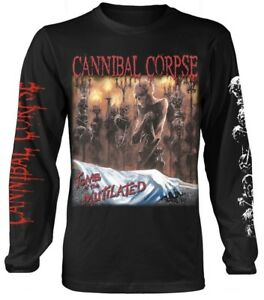 Cannibal Corpse 'Tomb Of The Mutilated' LS Shirt - NEW & OFFICIAL!