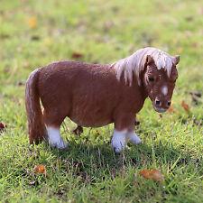"SHETLAND PONY FIGURINE STATUE RESIN PET 5""H  Farm Animal Ornament New Horse"
