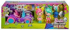 Barbie Video Game Hero Junior Vehicle & Two Figure Gift Set (Blue Ray & Dvd)