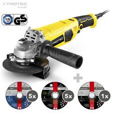 TROTEC Winkelschleifer PAGS 11-125 | Trennschleifer | Scheibe ø 125 mm | 1.200 W