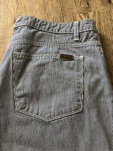 "Carhartt W' Ziggy Pant, 31"" x 32"", Blue Stripe Trousers, VGC"