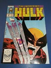 Incredible Hulk #340 Todd McFarlane Best Cover Ever Wolverine Key VFNM Beauty