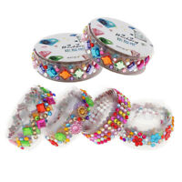 6 Rolls Self Adhesive Rhinestone Crystal Bling Sticker Tapes Phone Car Decor