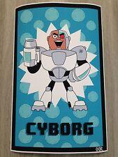 "Teen Titans Go! Cyborg 17""x26"" poster print"