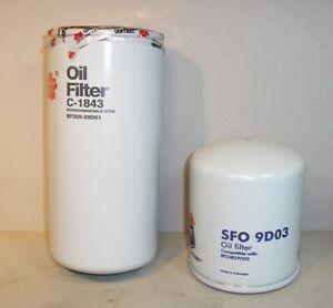 OIL FILTER SET FITS NISSAN UD 1200 1400 1999-2004  BF20928D00 BF20829D00