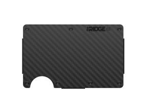 The Ridge Wallet Carbon Fiber + Cash Strap NIB