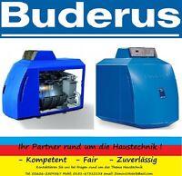 Buderus Logano Plus Ölbrennwert Kessel GB125 22 Regelgerät MC10 Ölblaubrenner BE