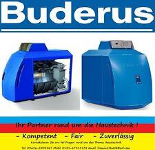Buderus Logano Plus Ölbrennwert Kessel GB125 18 Regelgerät MC10 Ölblaubrenner BE