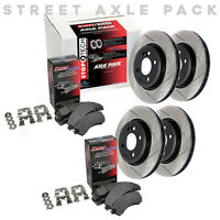 STOPTECH Performance Brake Rotors+Pads Kit for Honda 06-11 Civic Si 934.40005