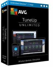 AVG TuneUp Antivirus Unlimited Users (1 Year) - PC Disc - NEW™