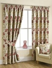 Floral Curtains with Pencil Pleat