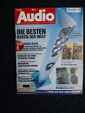 Audio 11/00 ELAC 512,jbl TI 6 K, JM Lab Micro Utopia, NAD T 760, Aerial SW 12