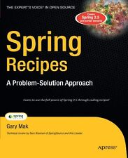 Spring Recipes: A Problem-Solution Approach (Books for Professionals by Professi