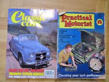 VINTAGE 1960 manuale pratico Automobilista RIVISTA & CLASSIC CAR MAGAZINE SETTEMBRE 1992