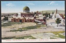 AK. Judaika / Jerusalem / The Temple platforme  / Um 1900 ..  ( E 294 )