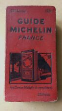 GUIDE MICHELIN FRANCE 1931 BON ETAT