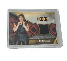 2017 Topps WWE Womens Division 1/1 Red Nikki Cross NXT