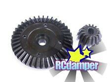 HARD STEEL DIFF DIFFERENTIAL RING & PROPELLER SHAFT GEAR TAMIYA TT02 TT02B TT02D