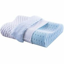 Cr 1 Pack Sleep Cool Gel Memory Foam Pillow for Neck Pain Relief, Standard Size