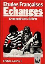 Etudes Francaises Echanges Edition Courte 1 : Grammatisc... | Buch | Zustand gut