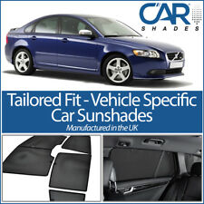 Volvo S40 4dr 2004-12 UV CAR SHADES WINDOW SUN BLINDS PRIVACY GLASS TINT BLACK
