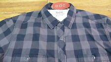 New with tags EDC men's black long sleeve shirt size M