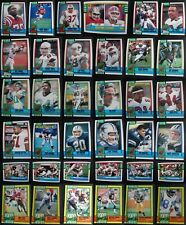 1990 Topps Football Cards & 1000 Yard Complete Your Set U You Pick List 416-528