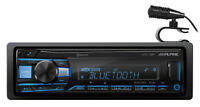 ALPINE UTE-73BT Digital Media Advanced Bluetooth Car Stereo Receiver w/AUX/USB