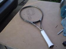 Prince Graphite Laser Oversize Tennis Racquet w Wilson Pro Overwrap 4 1/4