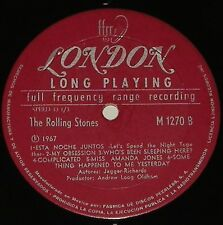 """Mexico Mono LP """"Ruby Tuesday"""" London 1270 FFRR Ear Labels 1967 rolling stones"""
