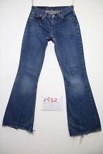 Levis 544 flare bootcut (Cod.J582) Tg.42 W28 L34 jeans usato boyfriend donna