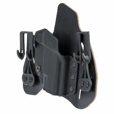 BlackHawk 422003BK-R Leather Tuckable Pancake IWB Holster Taurus J Frame