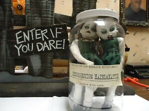 Living Dead Dolls RESURRECTION  HAZEL & HATTIE  In a Jar From The Factory.