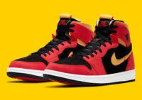 Air Jordan 1 Zoom Air CMFT Black Chile Red CT0978-006 Basketball Shoes Men's NEW