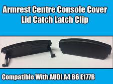1x Verrou Clip pour AUDI A4 B6 E177B Noir Accoudoir Centre Console Couverture Couvercle Catch