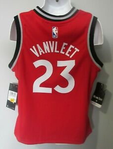 NWT Child's Boys Nike Fred VanVleet Toronto Raptors NBA Basketball Jersey sz. M