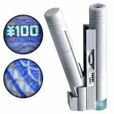New 100x Zoom Microscope Handheld Portable Dual Tube Led Light Magnifier Loupe