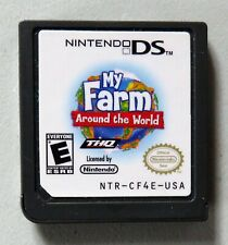 My Farm Around the World (Nintendo DS, 2009) Game Cartridge Only VGUC