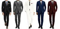 MEN'S CLASSIC FIT 2PC SUITS - BUSINESS FORMAL WEDDING PARTY - READ DESCRIPTION!