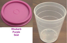Tupperware Mini 2-oz Sides Container Salad Dressing Mayo Spices~Rhubarb Seal New