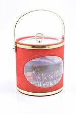 Vintage Red Budweiser Clydesdale Horses Ice Bucket 1992