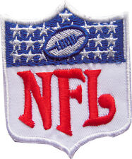 New NFL Shield Logo embroidered iron on patch. 2.5 x 3 inch (i51)