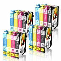 Lot de 16 Cartouches d'encre de Rechange pour Epson 16XL Expression Home XP-235