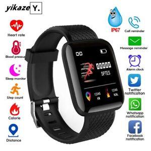 Smart Watch Smartband Waterproof Fitness Tracker Bracelet Heart Rate Monitor