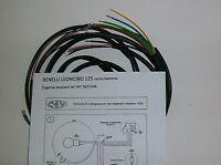 IMPIANTO ELETTRICO ELECTRICAL WIRING BENELLI LEONCINO 125 NO BATTERIA+SCHEMA EL.