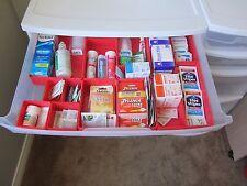 140 Plastic Boxes fit Metro Flexline, Bluebell, and Harloff Medical Crash Carts
