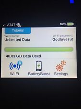 AT&T Unlimited Data 4G LTE Rental $79 every 30 days Free Wifi Hotspot 781S