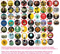 Chapa Button Badge Custom Pins Breaking Bad The Big Bang Theory