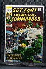 Sgt Fury and His Howling Commandos #73 Marvel Silver Age Comic 1969 Stan Lee 9.2
