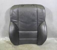 BMW E46 3-Series Factory Front Sports Seat Backrest Cushion Pad Black Leather